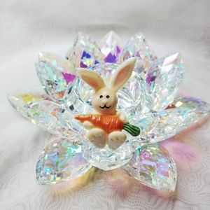 Vintage 90's Easter Rabbit Brooch